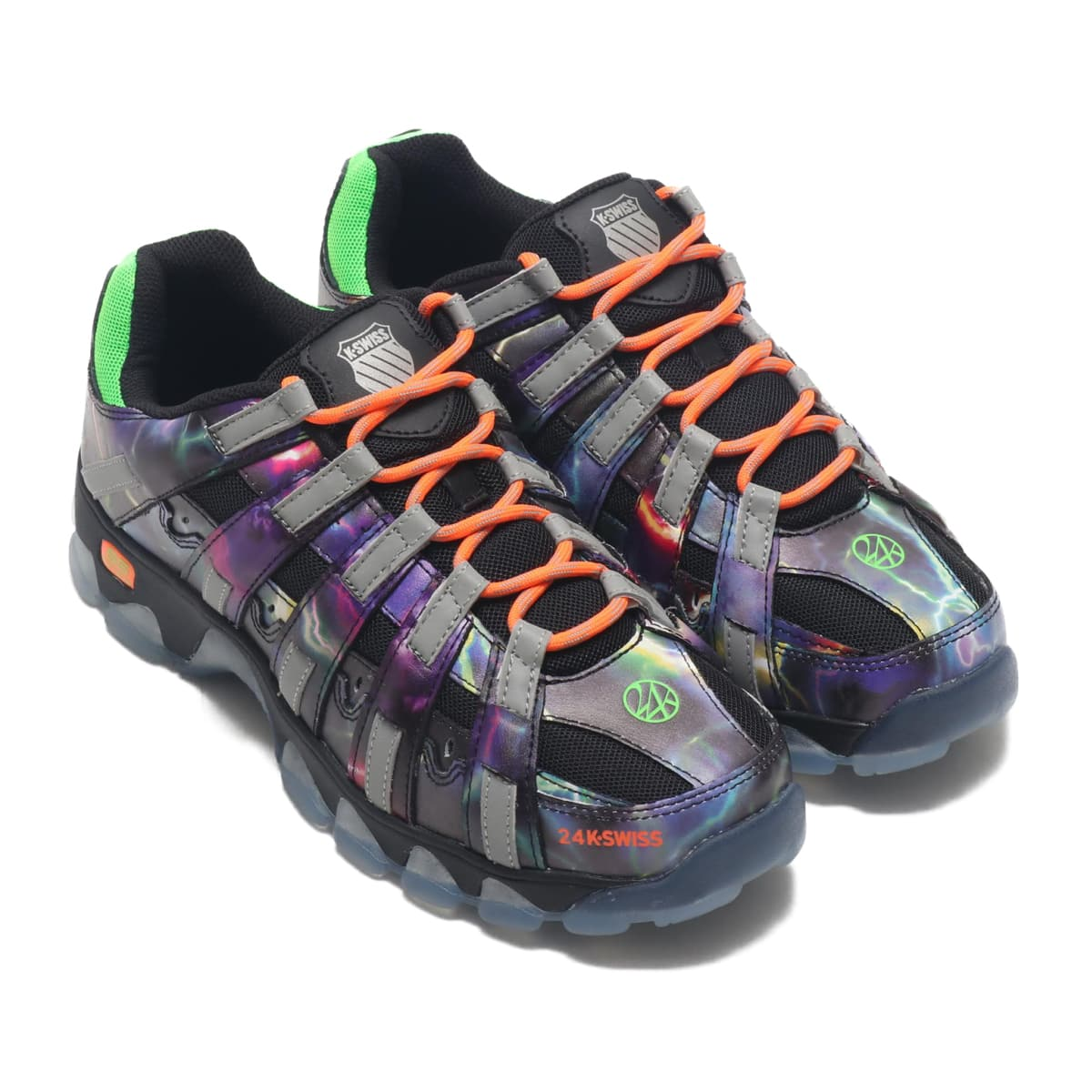 K・SWISS ST429 × 24K THUNDER/NEON ORANGE/NEON GREEN 20SS-S_photo_large