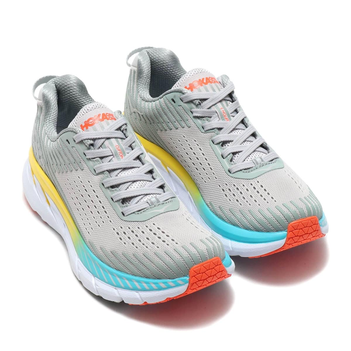 HOKA ONEONE CLIFTON 5  Vapor Blue/Wrought Iron 19SS-I_photo_large