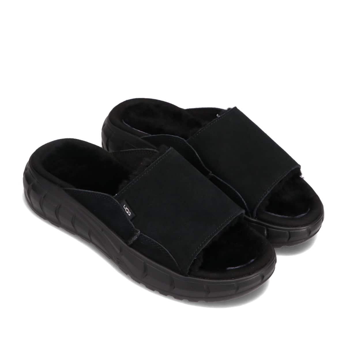 UGG Westsider Slide BLACK SUEDE 21SS-I_photo_large