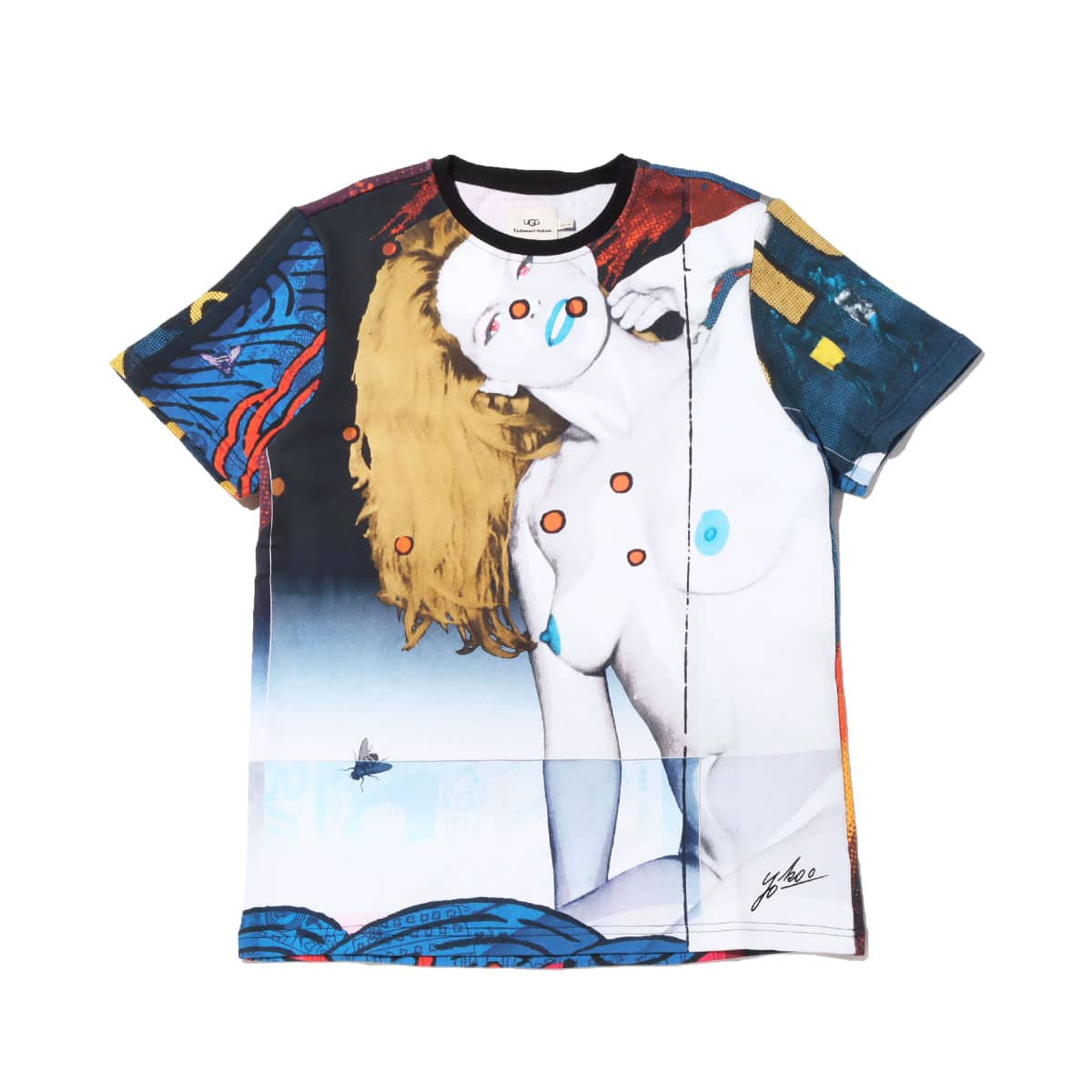 UGG x Yokoo Tadanori T-Shirts BLUE MULTI 20FW-S_photo_large
