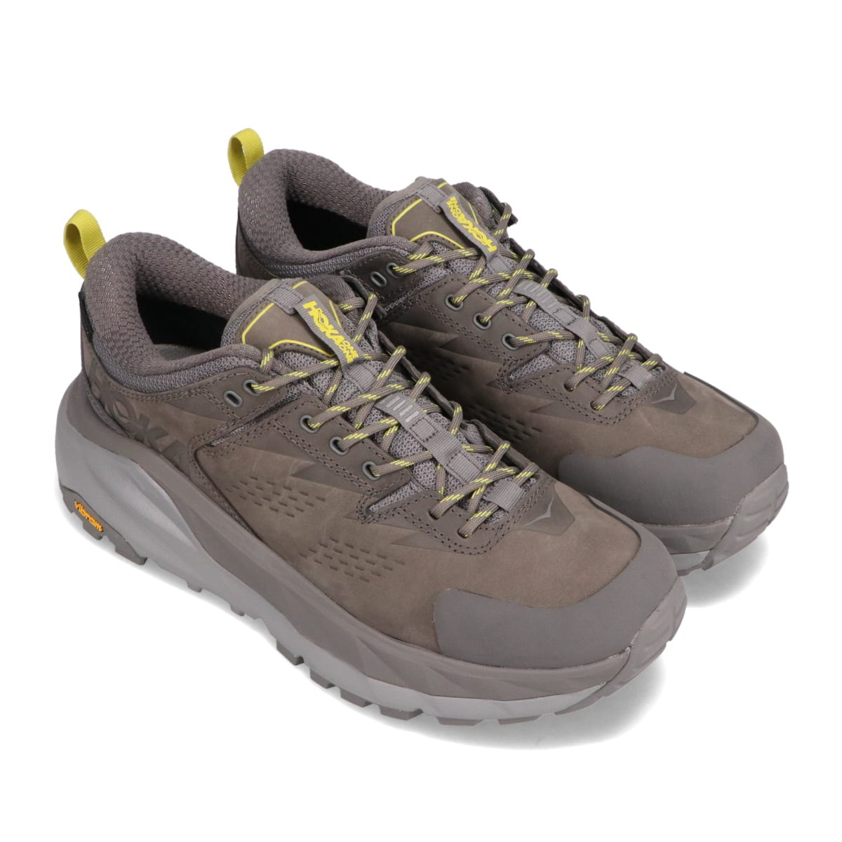 HOKA ONEONE M KAHA LOW GTX CHARCOAL GRAY / GREEN SHEEN 21SS-I_photo_large