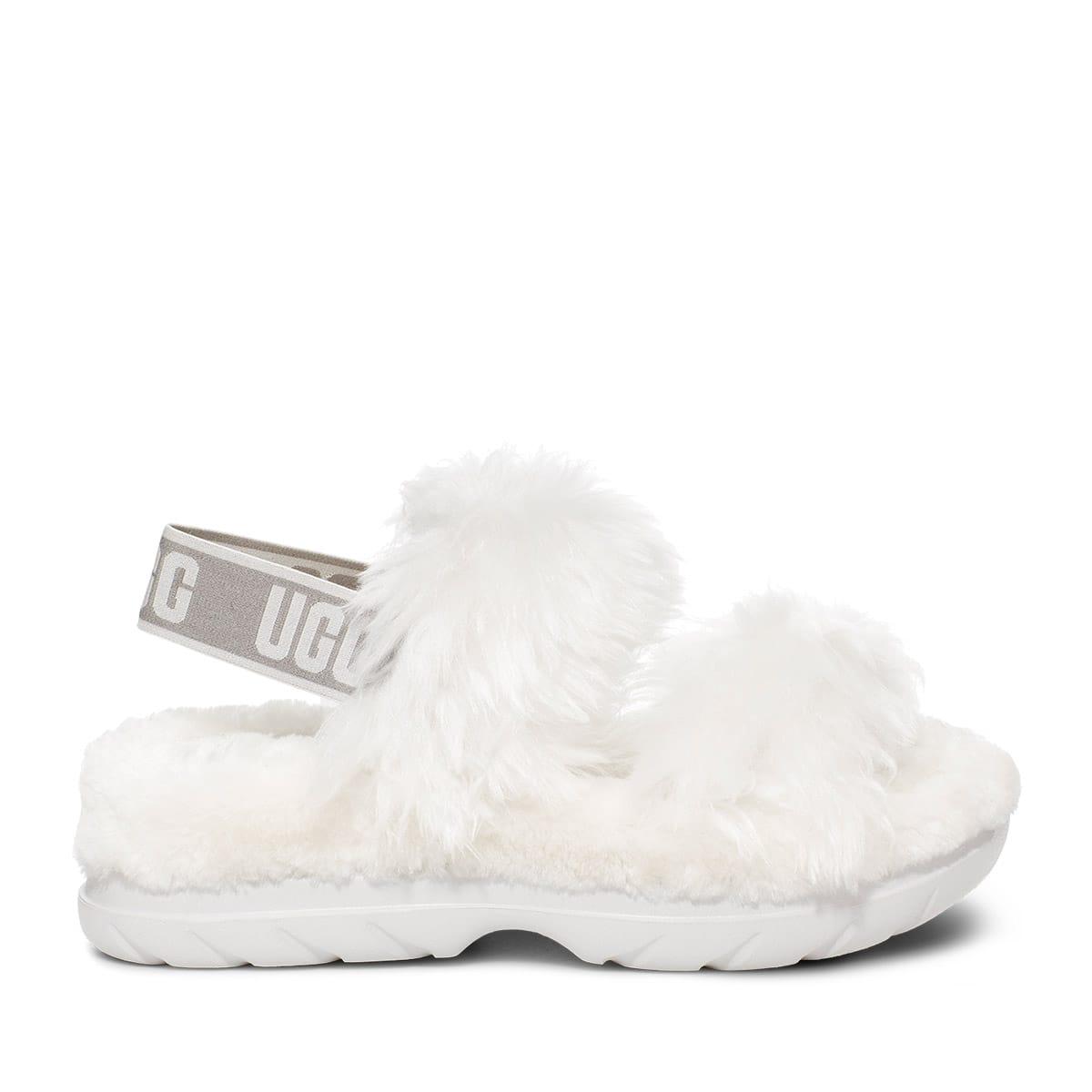 UGG Fluff Sugar Sandal WHITE 21SS-I_photo_large