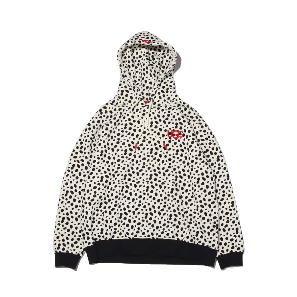 UGG CA805 Dalmatian Hoodie OFF WHITE/BLACK 20FW-S_photo_large