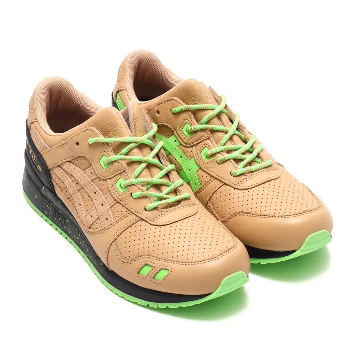 asics Tiger GEL-LYTE III SNKRFRKR BEIGE/GREEN 19SS-S_photo_large