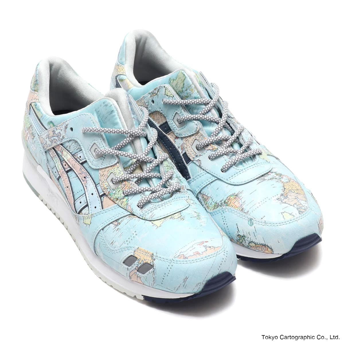 ASICSTIGER GEL-LYTE III WORLD MAP  SKY/PCT_photo_large