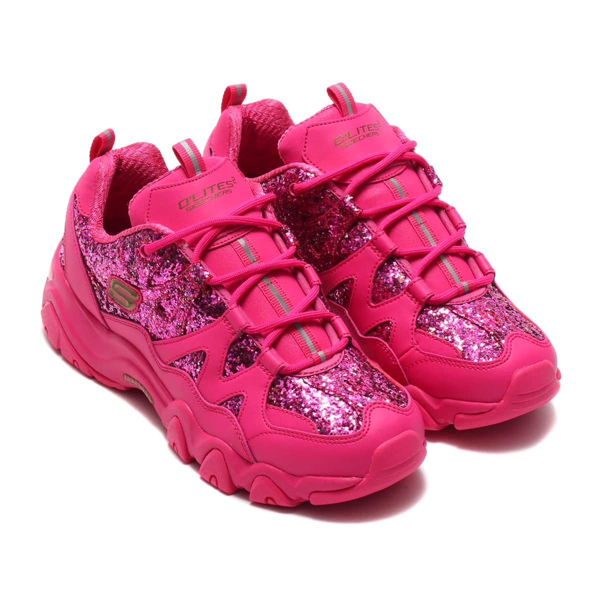 SKECHERS × atmos pink D'LITES 2 - CRYSTAL DAZZLE HPK 19FA-S_photo_large