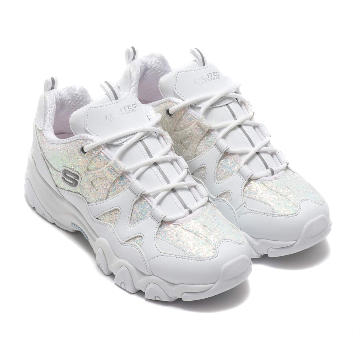 SKECHERS × atmos pink D'LITES 2 - CRYSTAL DAZZLE WHT 19FA-S_photo_large