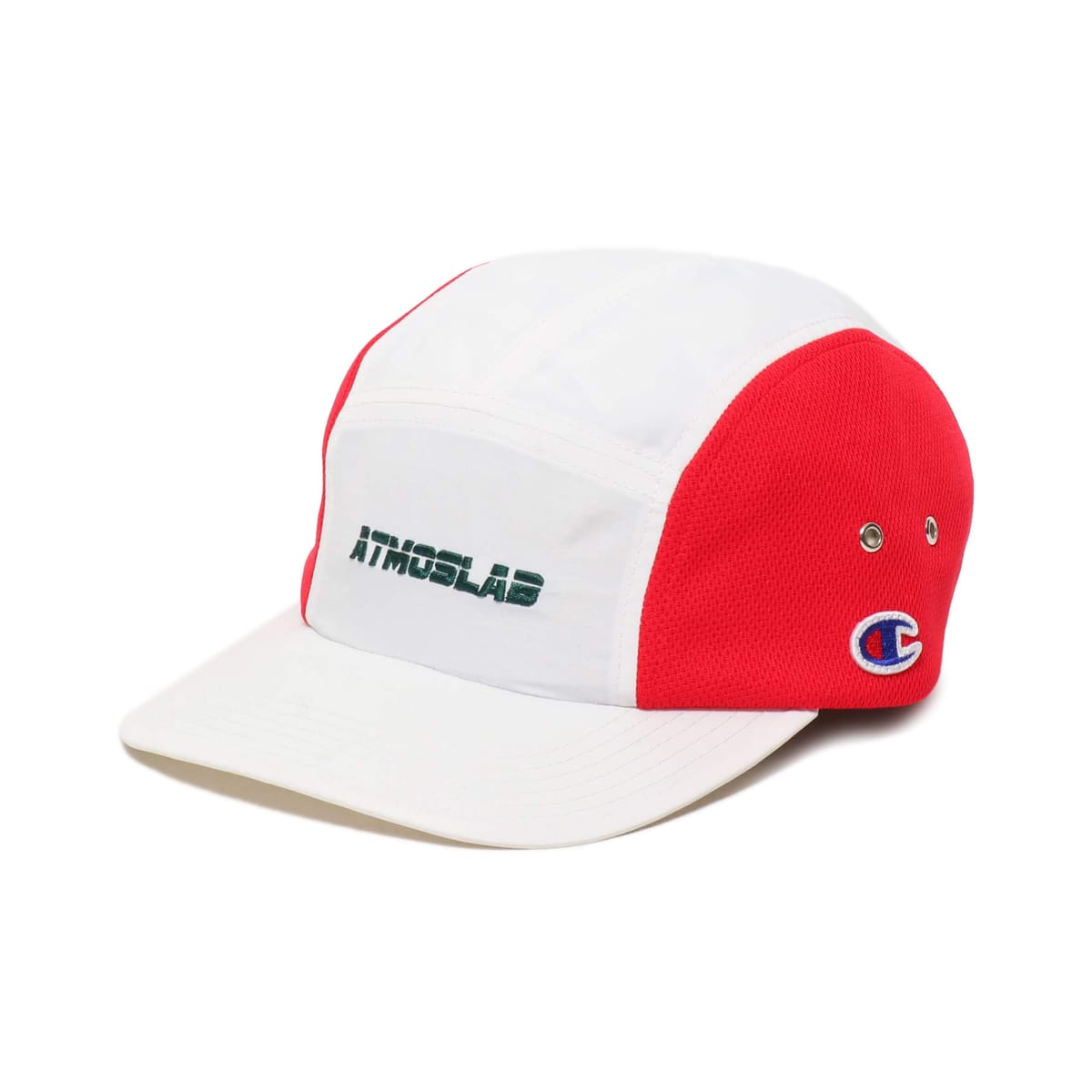 CHAMPION x ATMOS LAB NYLON MESH CAP WHITE 19SS-S_photo_large