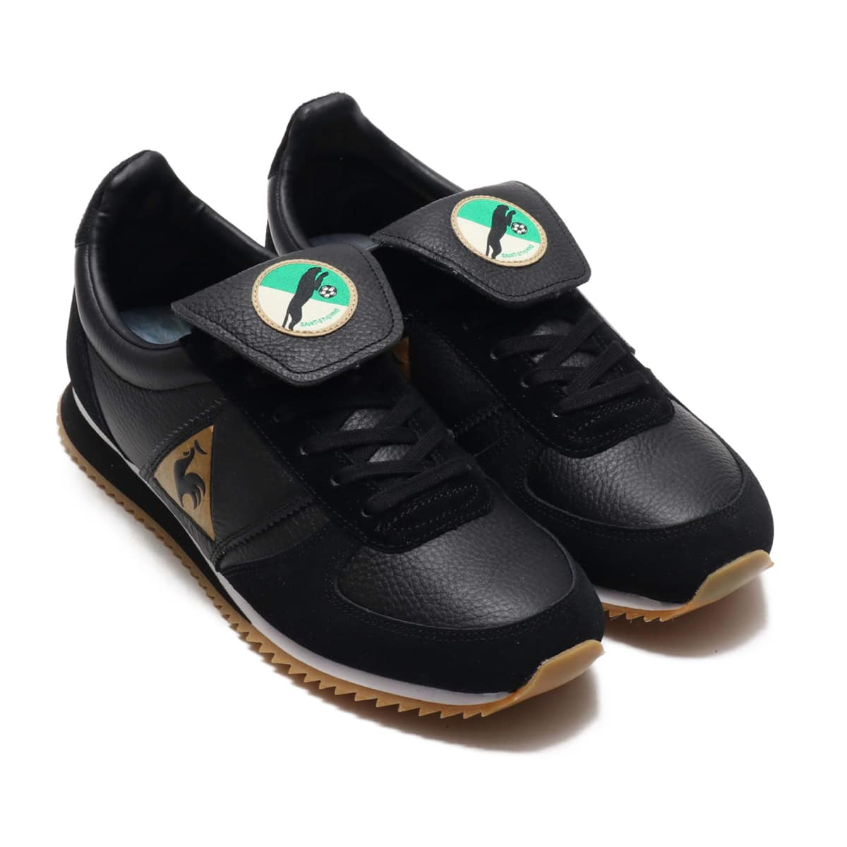 le coq sportif TURBOSTYLE PANTHERE LEATHER  BLACK 18FW-S_photo_large