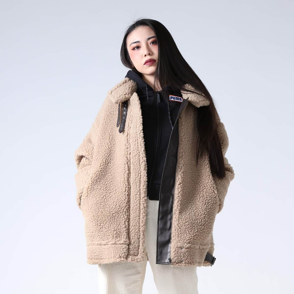 atmos pink フライト ボアコート BEIGE 19FW-I_photo_large