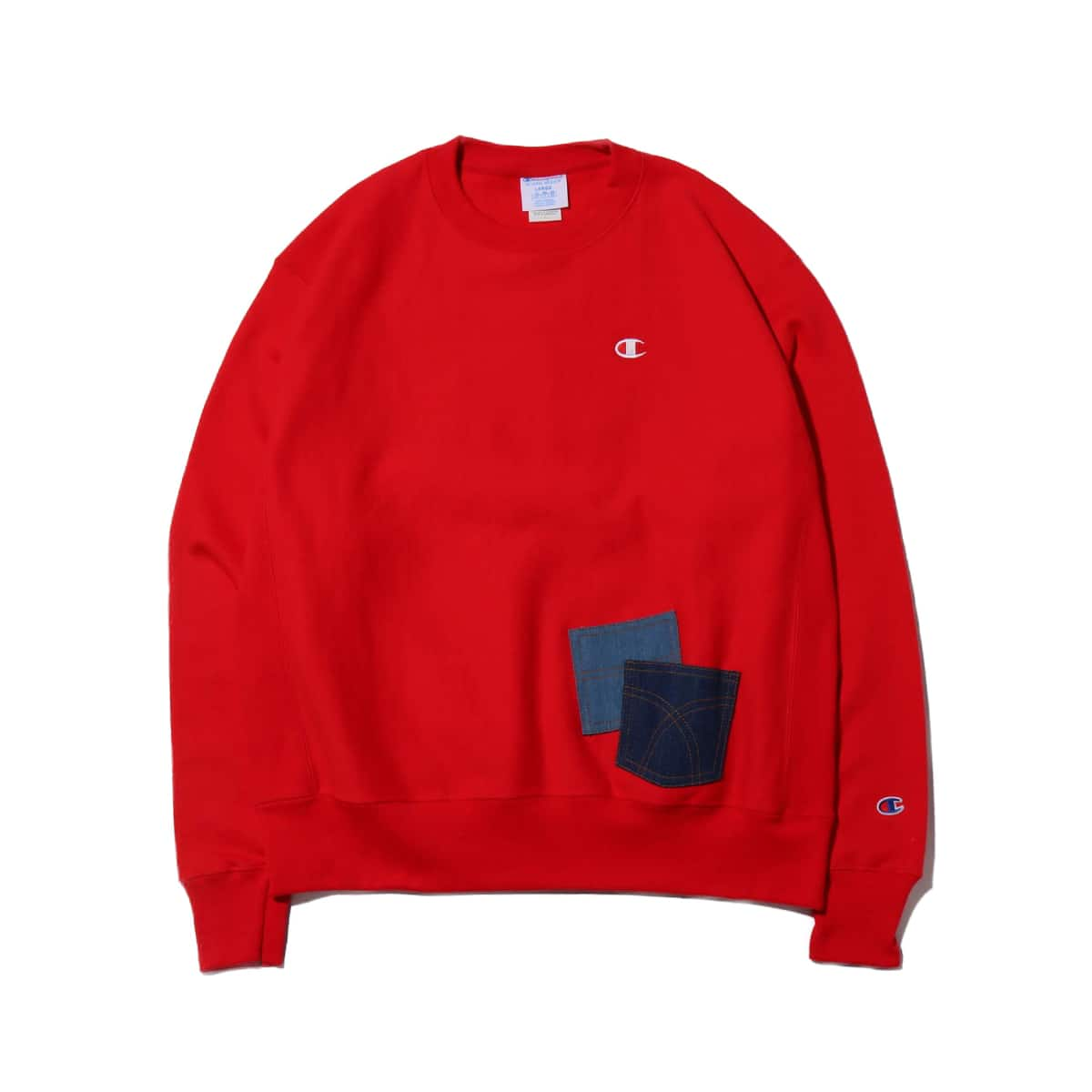 REMAKE CREW NECK by 太田夢莉 RED 19HO-S_photo_large