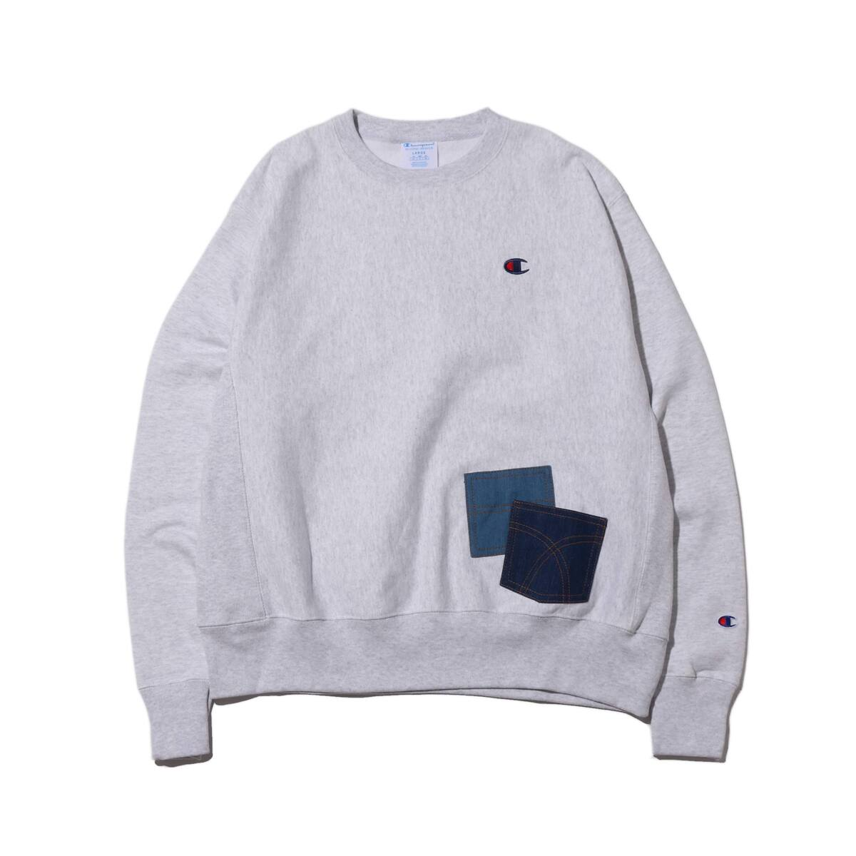 REMAKE CREW NECK by 太田夢莉 SILVER 19HO-S_photo_large