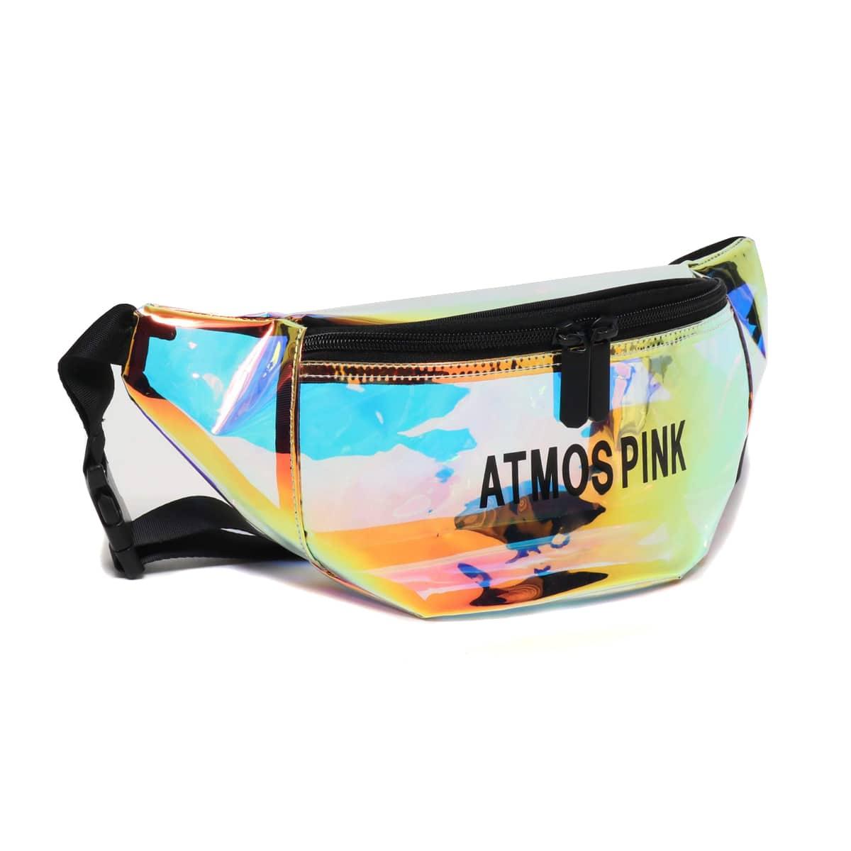 atmos pink ホログラム ウエストポーチ BLACK 19SU-I_photo_large