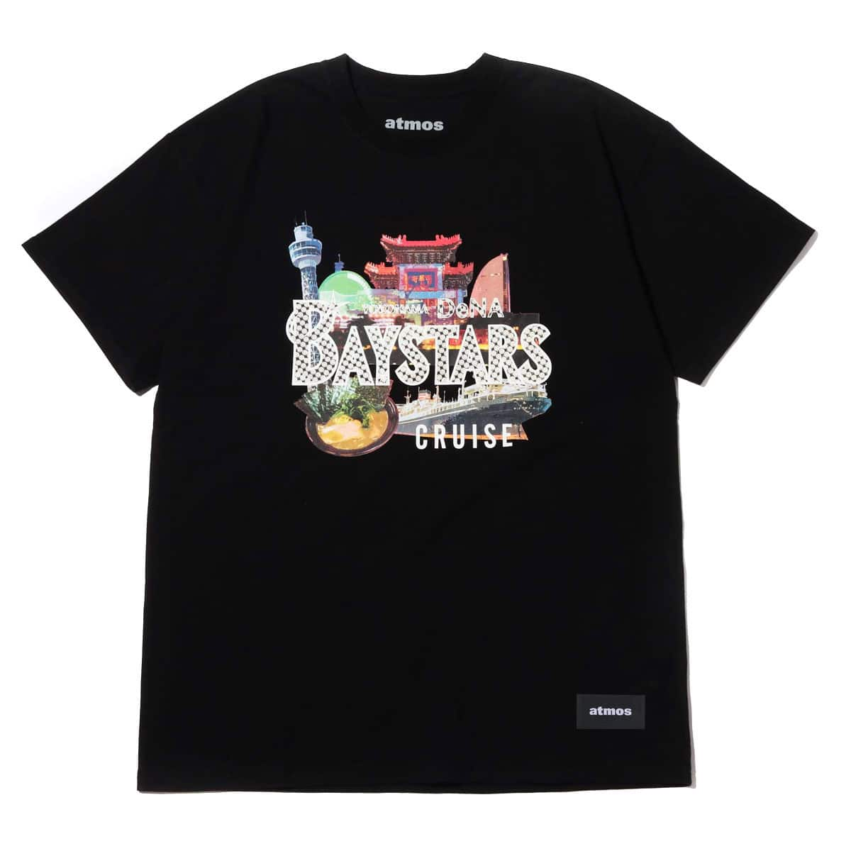 atmos × Baystars YOKOHAMA グラフィック Tシャツ BLACK 19SU-S_photo_large