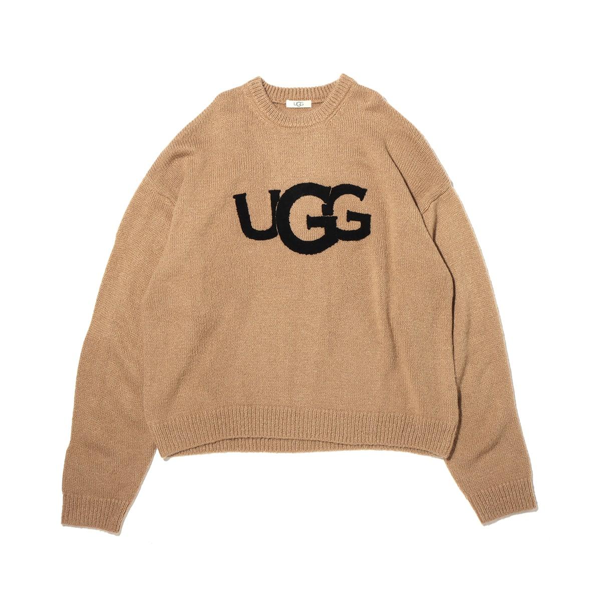 UGG UGG ロゴ モヘアニット BEIGE 20FW-I_photo_large