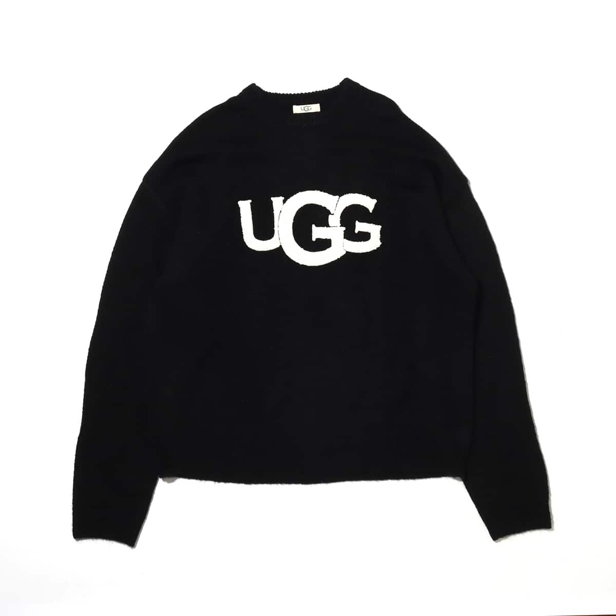 UGG UGG ロゴ モヘアニット BLACK 20FW-I_photo_large