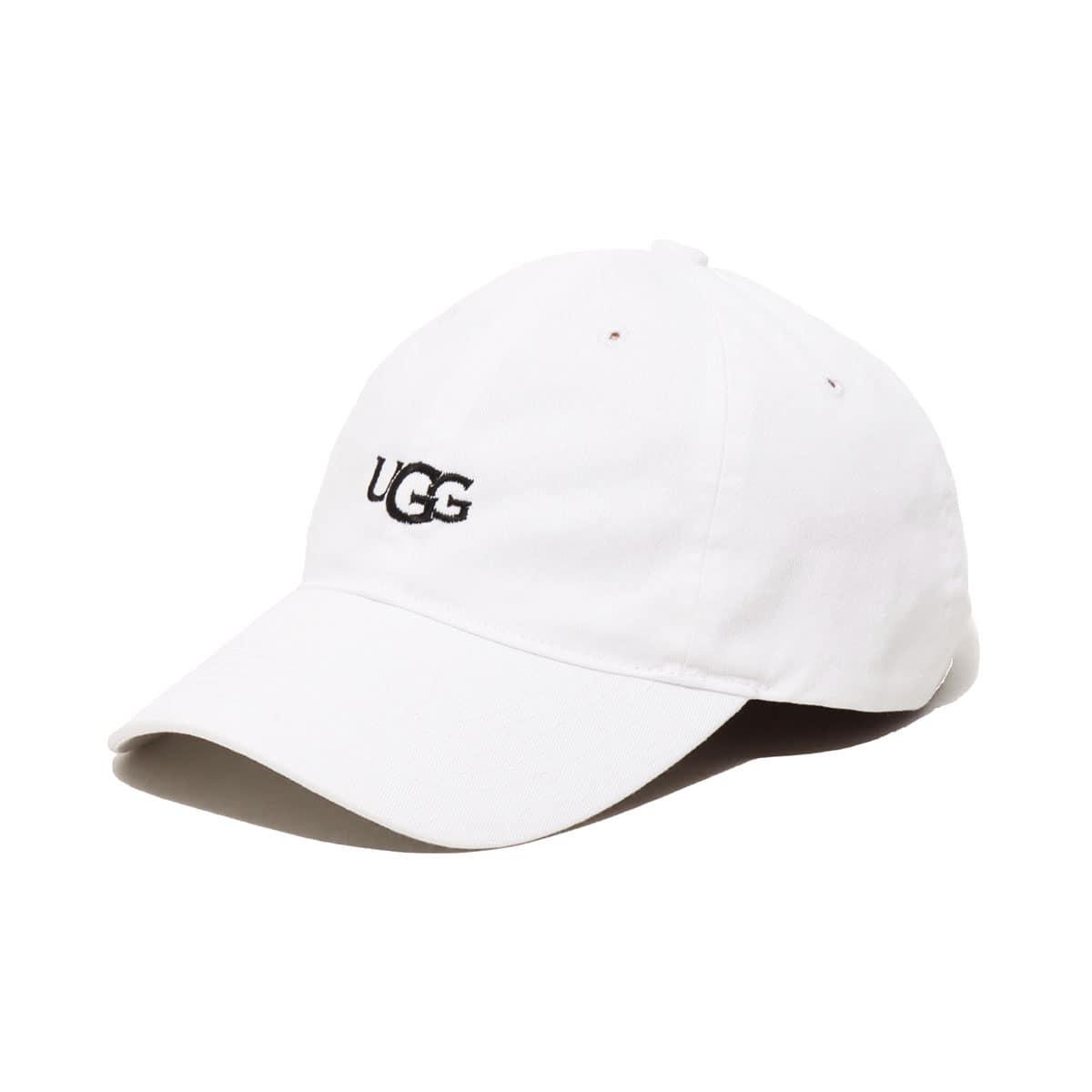 UGG UGG LOGO 6 PANEL CAP WHITE 20SS-I_photo_large