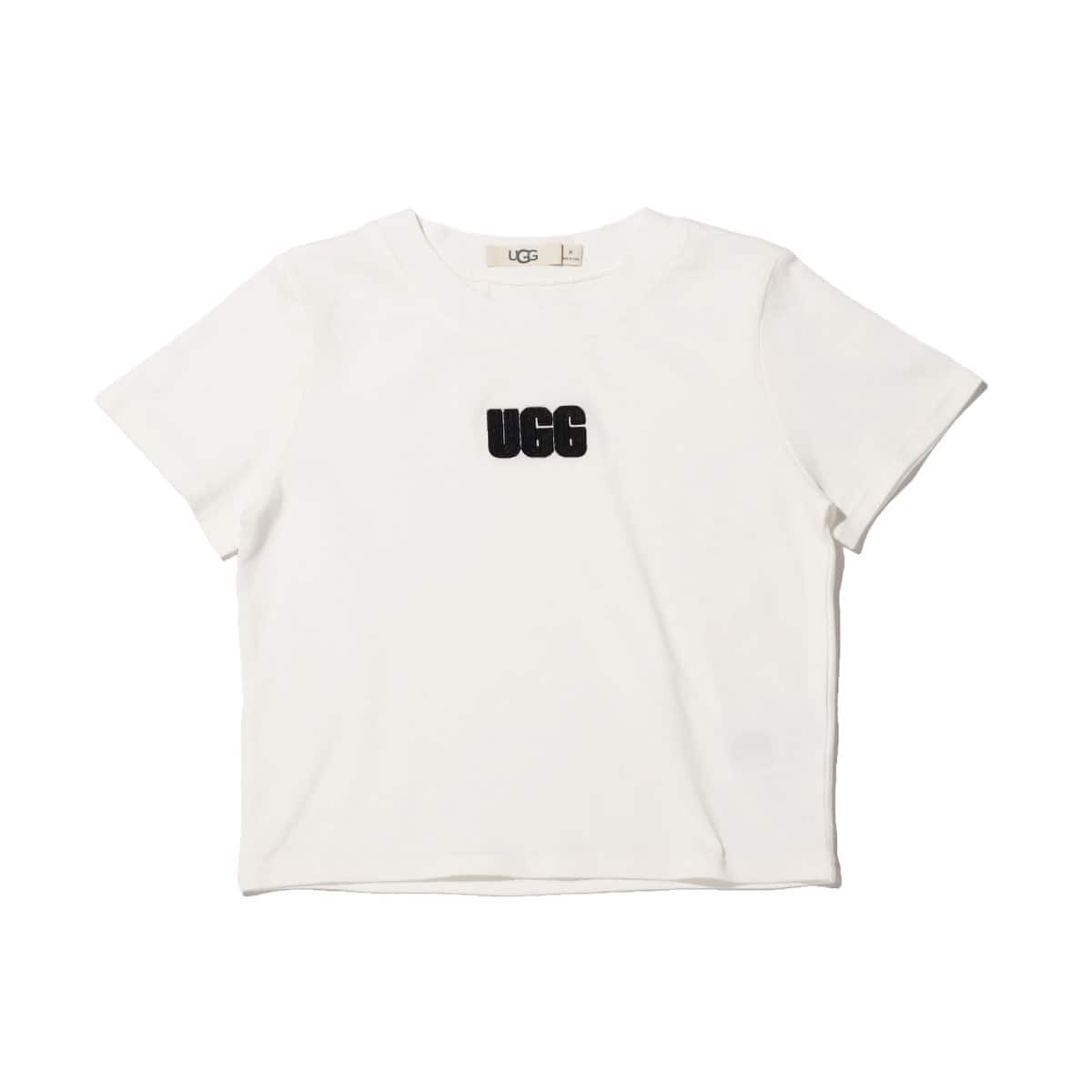 UGG LOGO EMBROI MINI TEE WHITE 20SS-S_photo_large