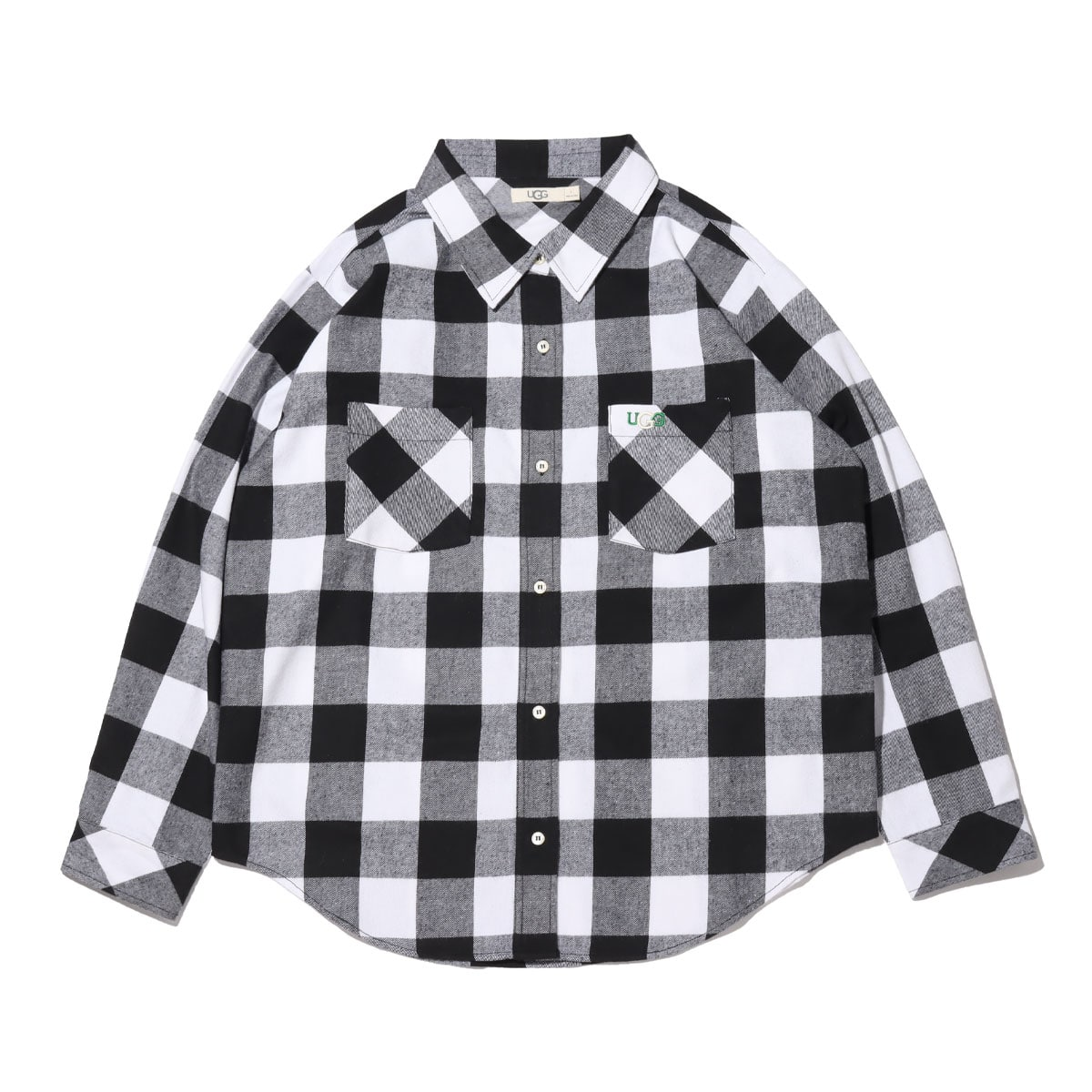 UGG チェックシャツ BLACK 21SS-I_photo_large