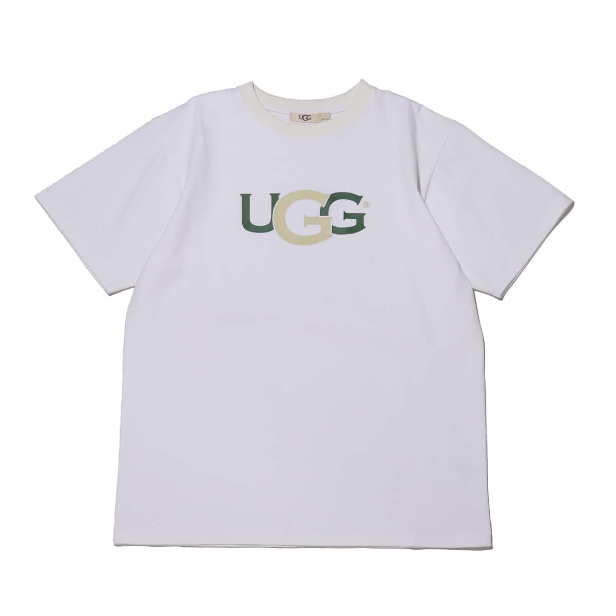 UGG スイッチングロゴ Tシャツ WHITE 21SS-I_photo_large