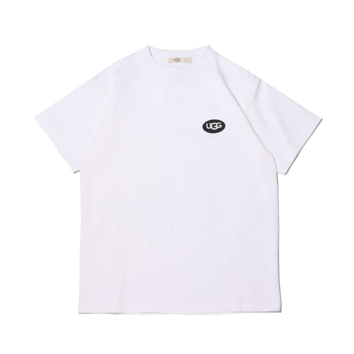 UGG シリコンパッチ Tシャツ WHITE 21SS-I_photo_large