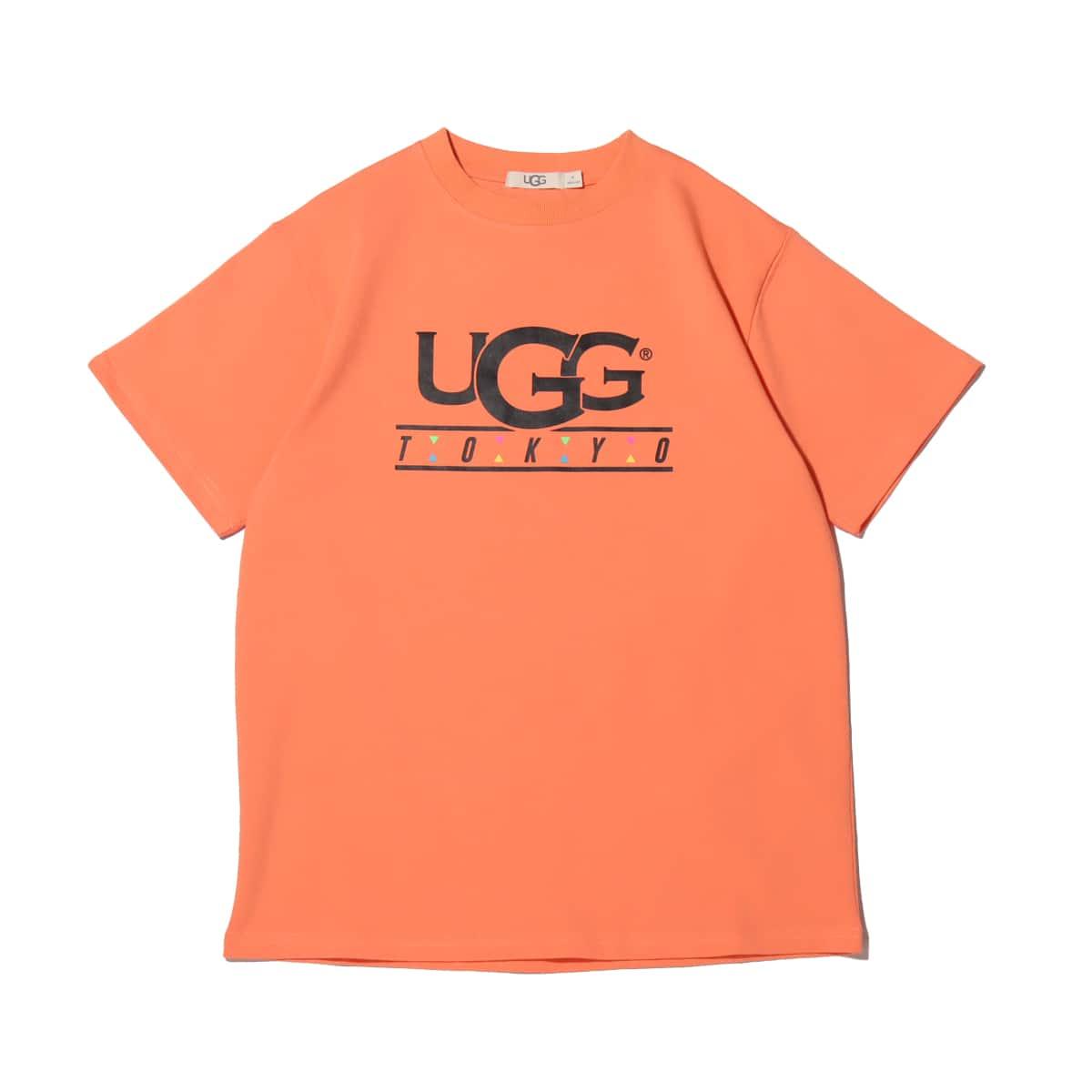 UGG TOKYO トライアングルTシャツ ORANGE 21SS-I_photo_large