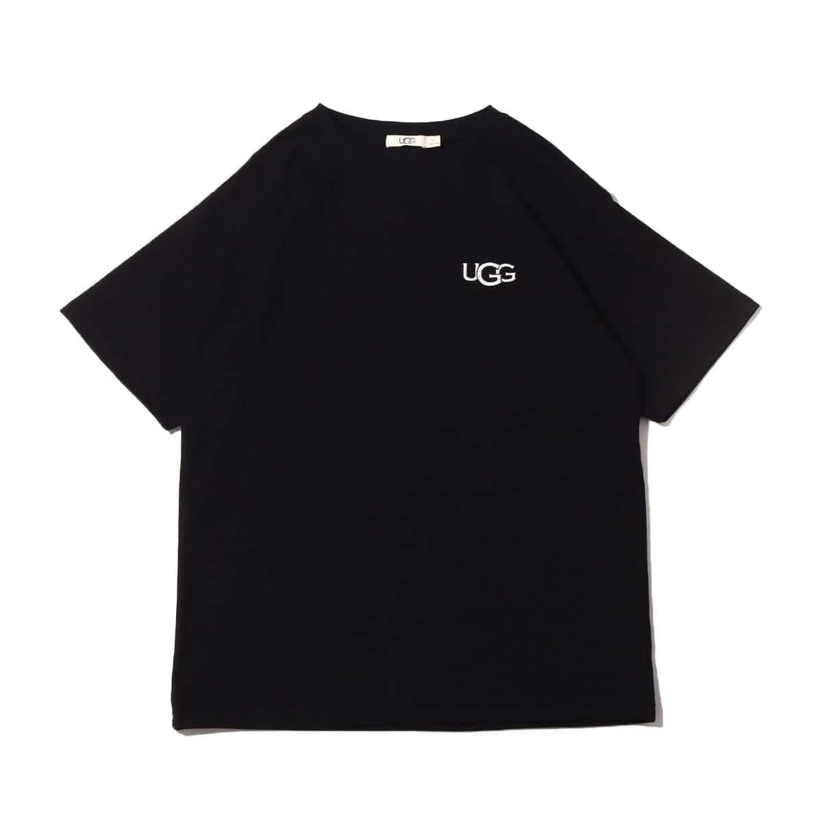 UGG ロゴ刺繍 Tシャツ BLACK 21SS-I_photo_large