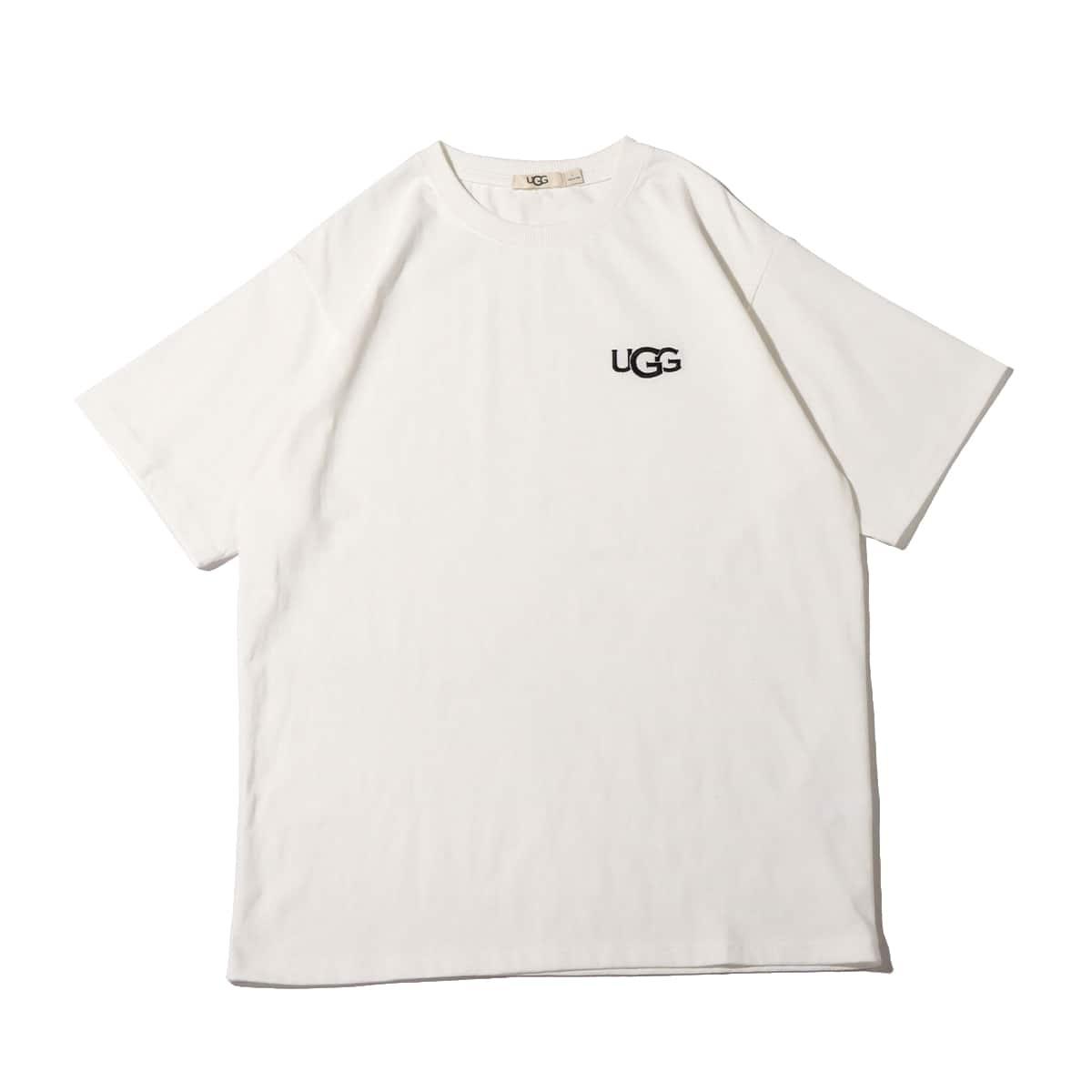 UGG ロゴ刺繍 Tシャツ WHITE 21SS-I_photo_large