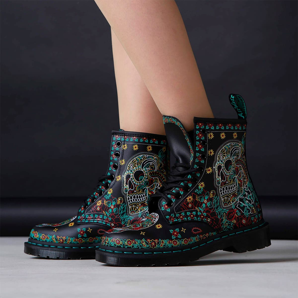 Dr.Martens CORE PRINT 1460 SKULL BACKHAND MULTI 19AW-I_photo_large
