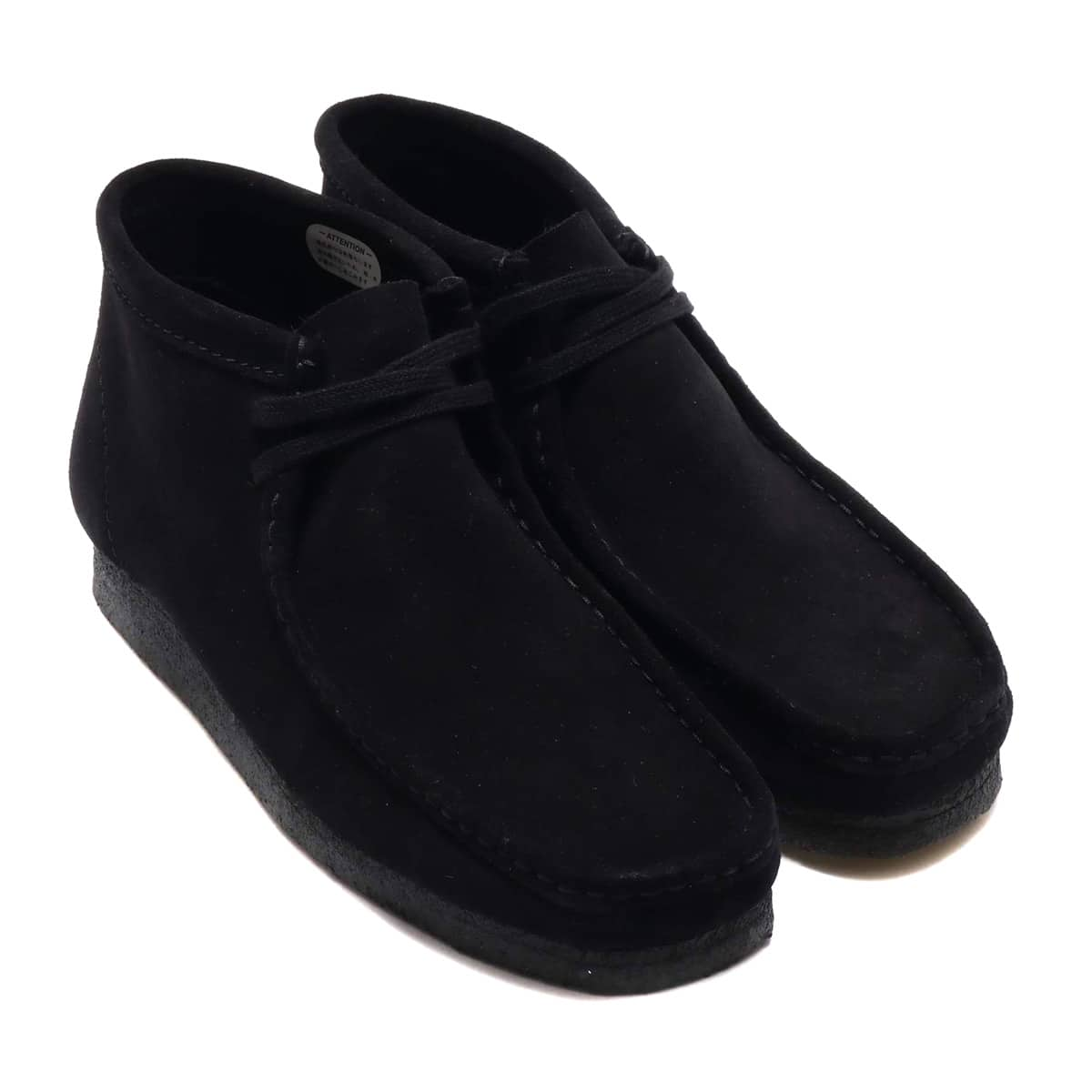 Clarks Wallabee Boot  Black Suede 18FW-I_photo_large