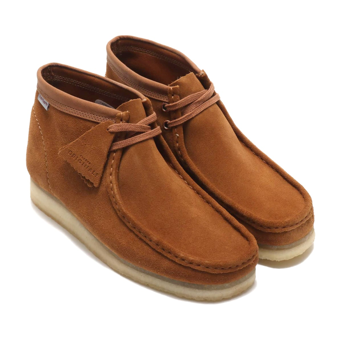 Clarks x Carhartt WIT Wallabee Boot Brown Combi Sde 19FW-S_photo_large