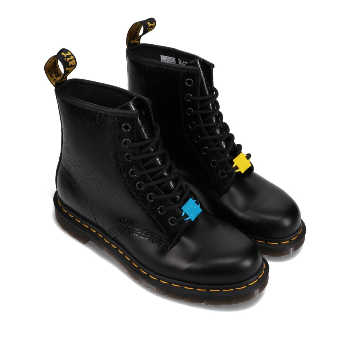 Dr.Martens KEITH HARING 1460 KH FIG BLACK+MULTI KH FIG SMOOTH BLACK 21SS-I_photo_large