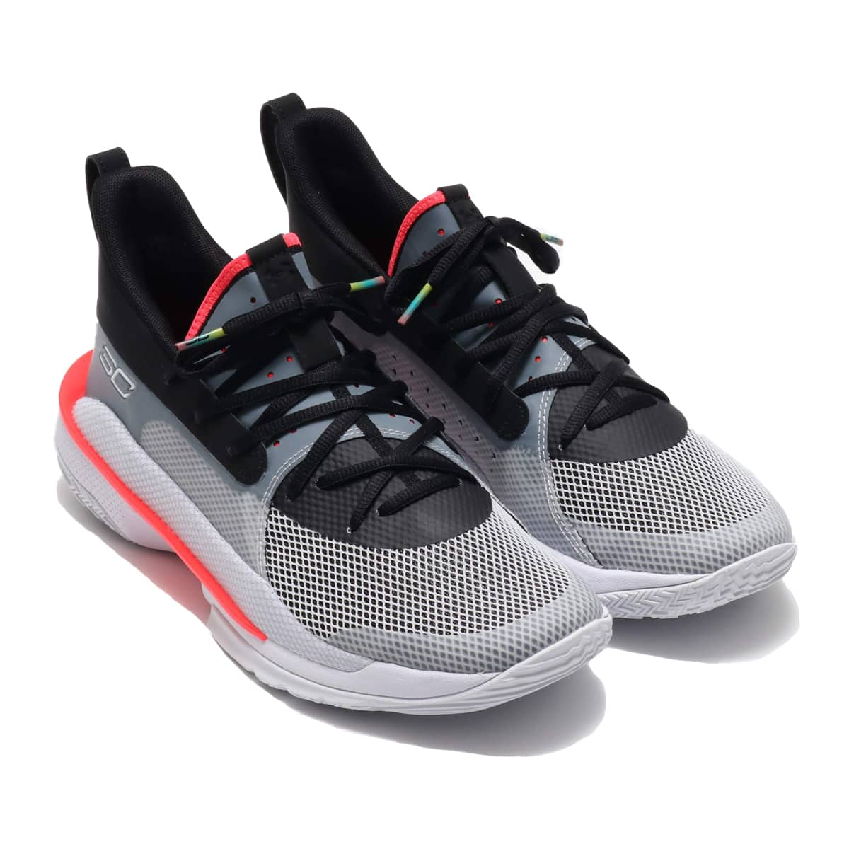 """UNDER ARMOUR Curry 7 """"UNDRTD"""" WHITE/WHITE/BLACK 19HO-S_photo_large"""