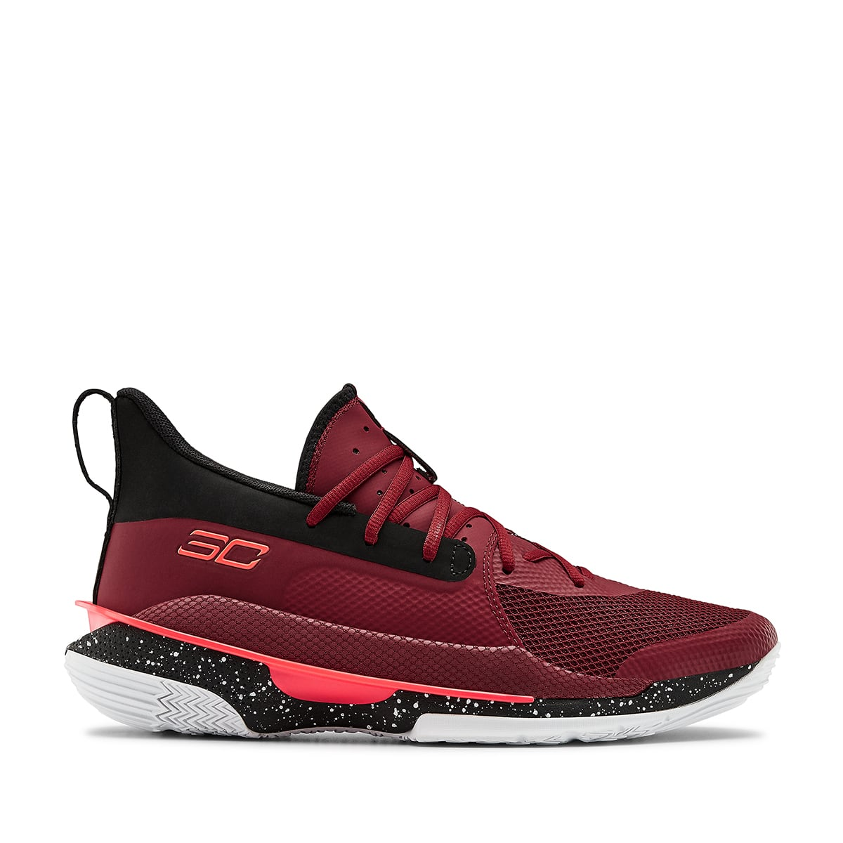 """UNDER ARMOUR Curry 7 """"MBK"""" BURGUNDY 20SS-S_photo_large"""