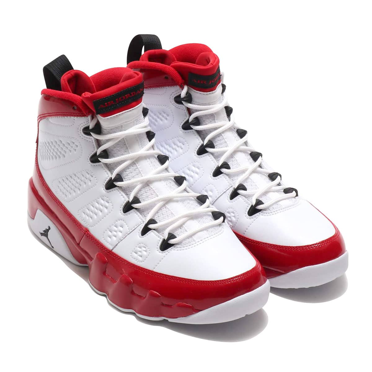 NIKE AIR JORDAN 9 RETRO WHITE/BLACK-GYM RED 19HO-S_photo_large