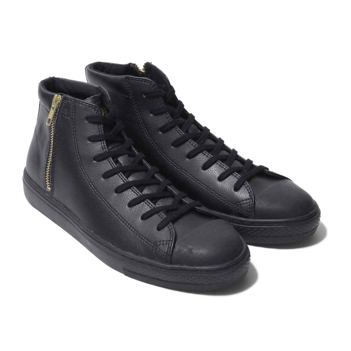 CONVERSE ALL STAR COUPE LEATHER Z MID BLACK 19FW-S_photo_large