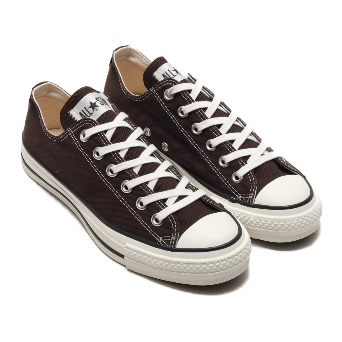 CONVERSE CANVAS ALL STAR J OX ダークブラウン 20FW-I_photo_large