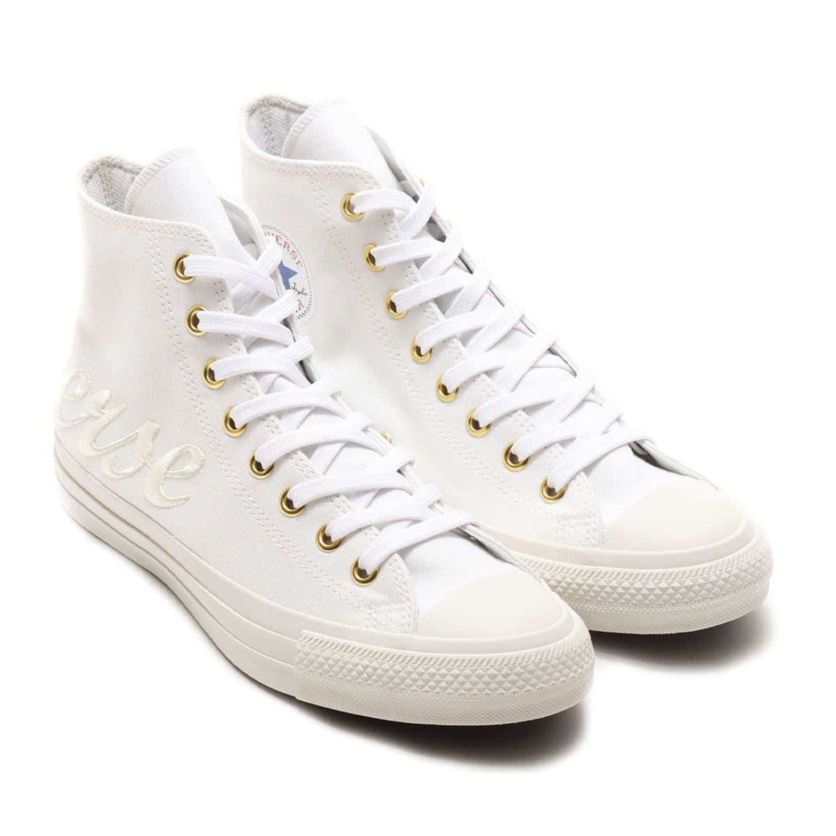 CONVERSE ALL STAR 100 LOGOEMBROIDERY G HI WHITE 20FW-I_photo_large