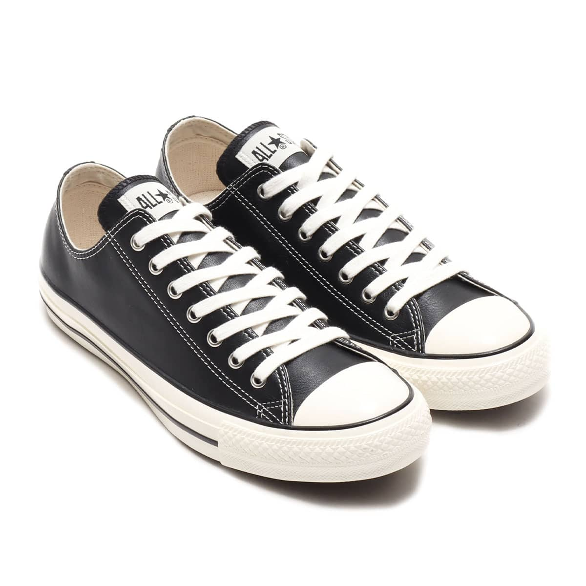 CONVERSE LEATHER ALL STAR US OX BLACK 20FW-I_photo_large