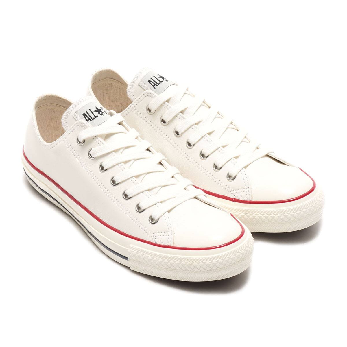 CONVERSE LEATHER ALL STAR US OX WHITE 20FW-I_photo_large