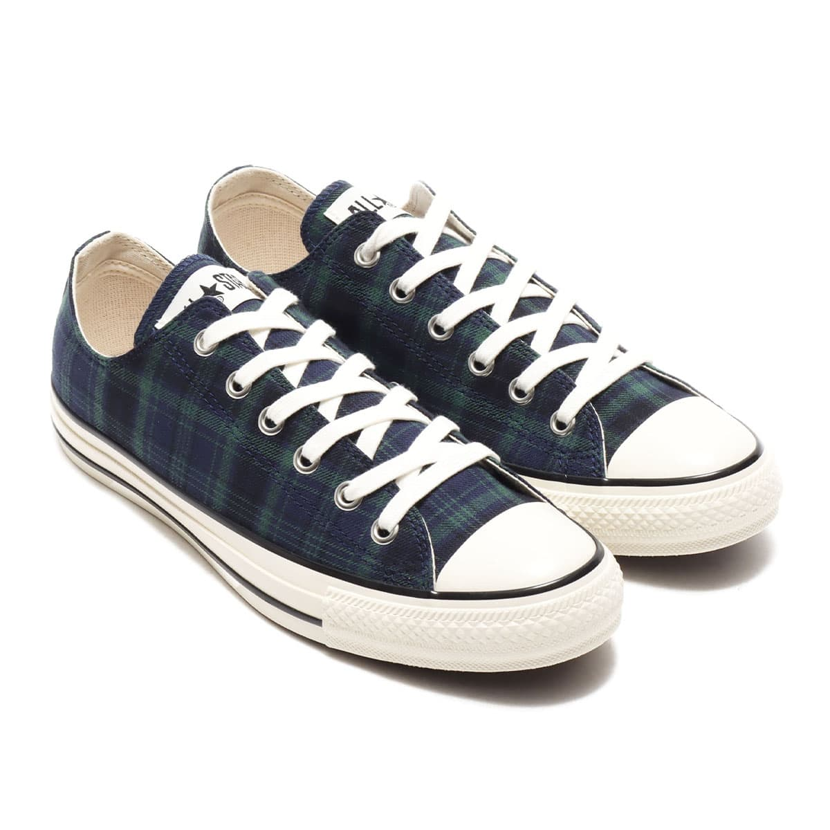 CONVERSE ALL STAR US CHECK OX NAVY 20FW-I_photo_large