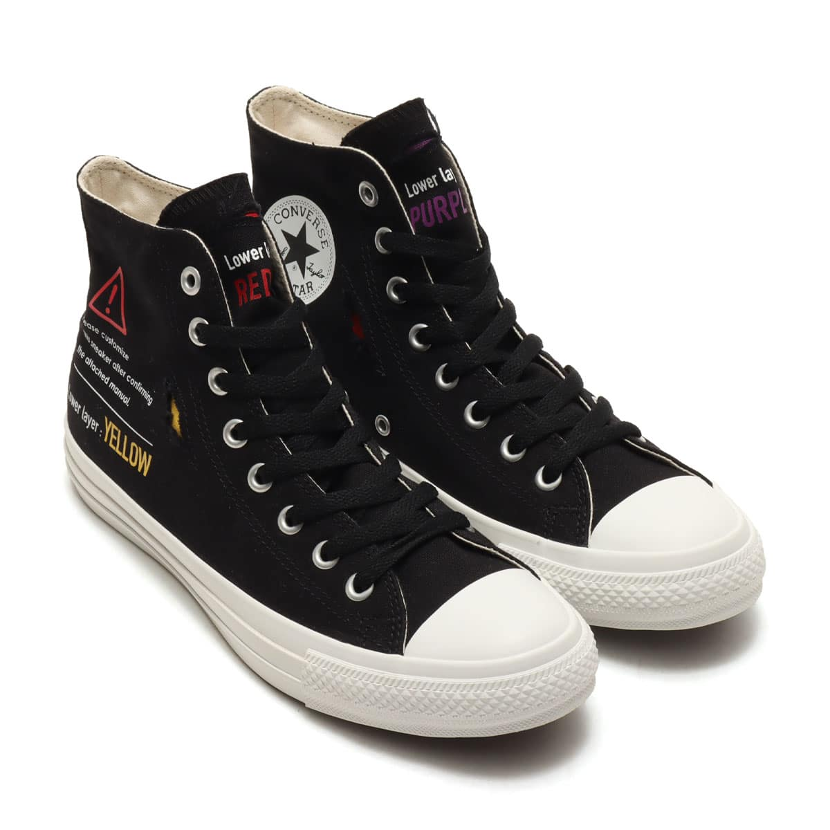 CONVERSE ALL STAR RIPLAYYER Ⅱ HI BLACK 21SS-I_photo_large