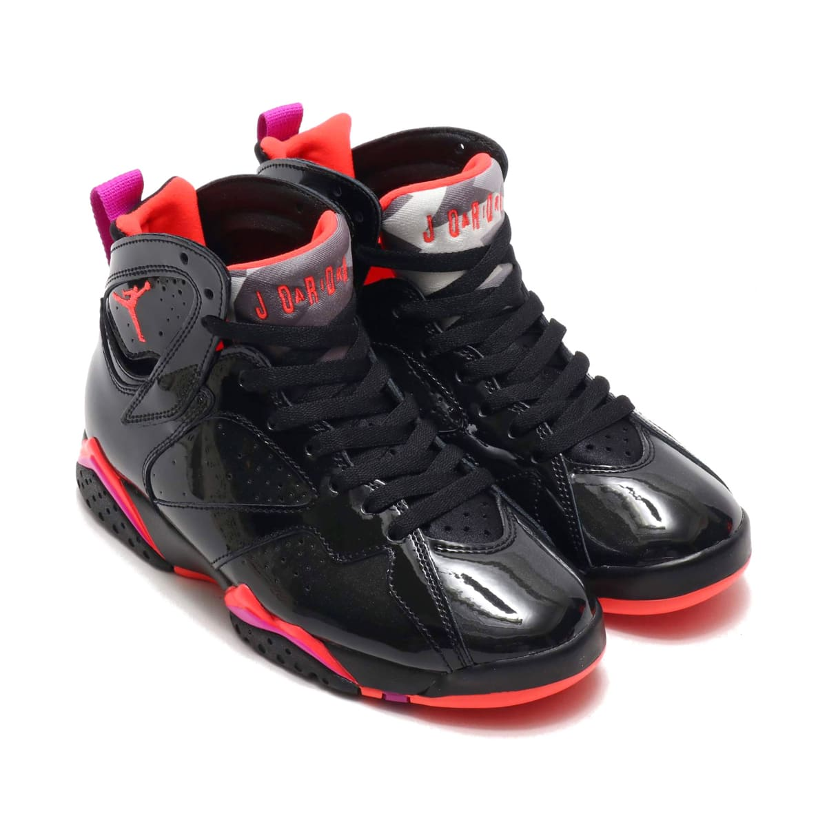 JORDAN BRAND WMNS AIR JORDAN 7 RETRO BLACK/BRIGHT CRIMSON-ANTHRACITE 19HO-S_photo_large