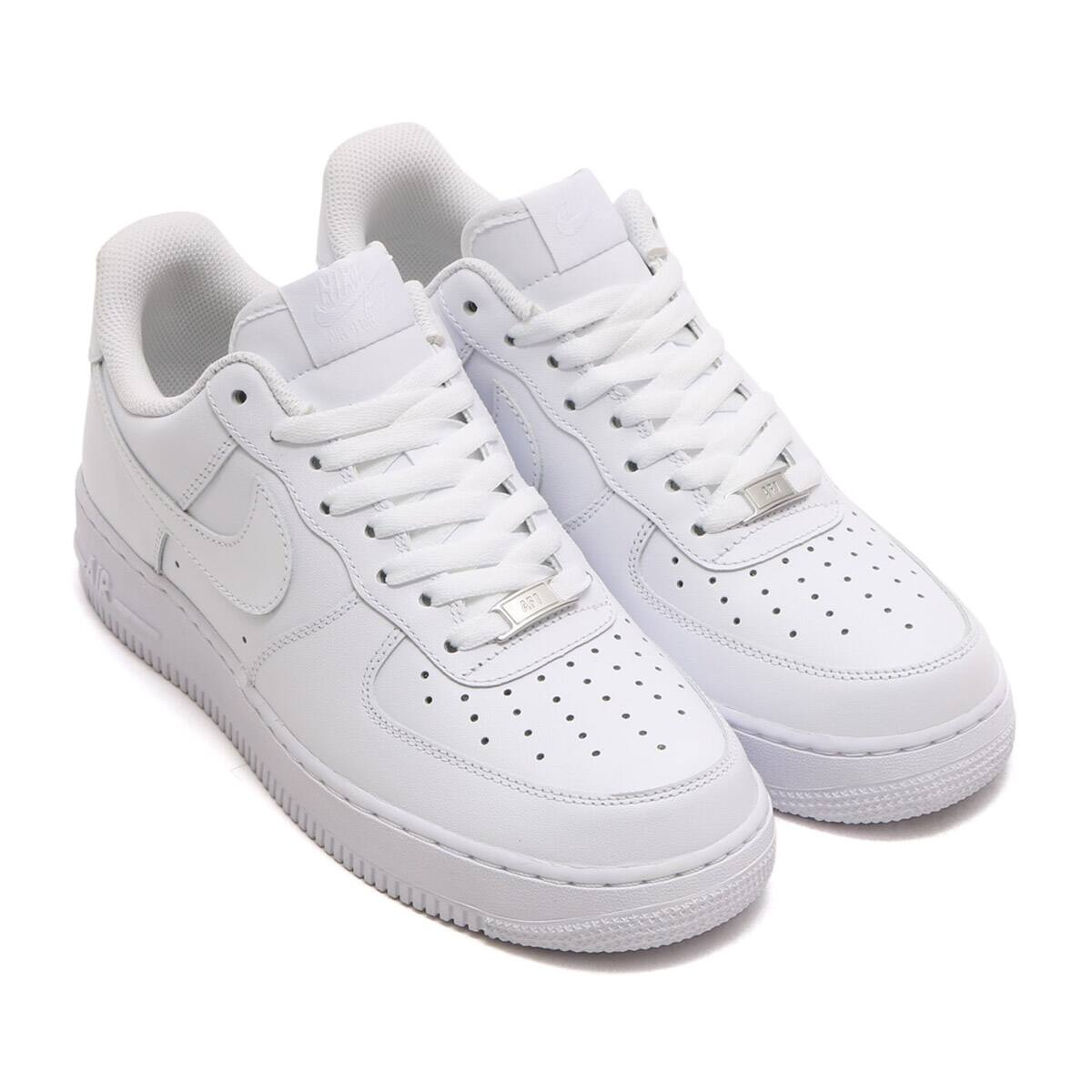 NIKE AIR FORCE 1 '07 WHITE/WHITE 19FA-I_photo_large