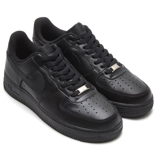 NIKE AIR FORCE 1 '07 BLACK/BLACK 18FW-I_photo_large
