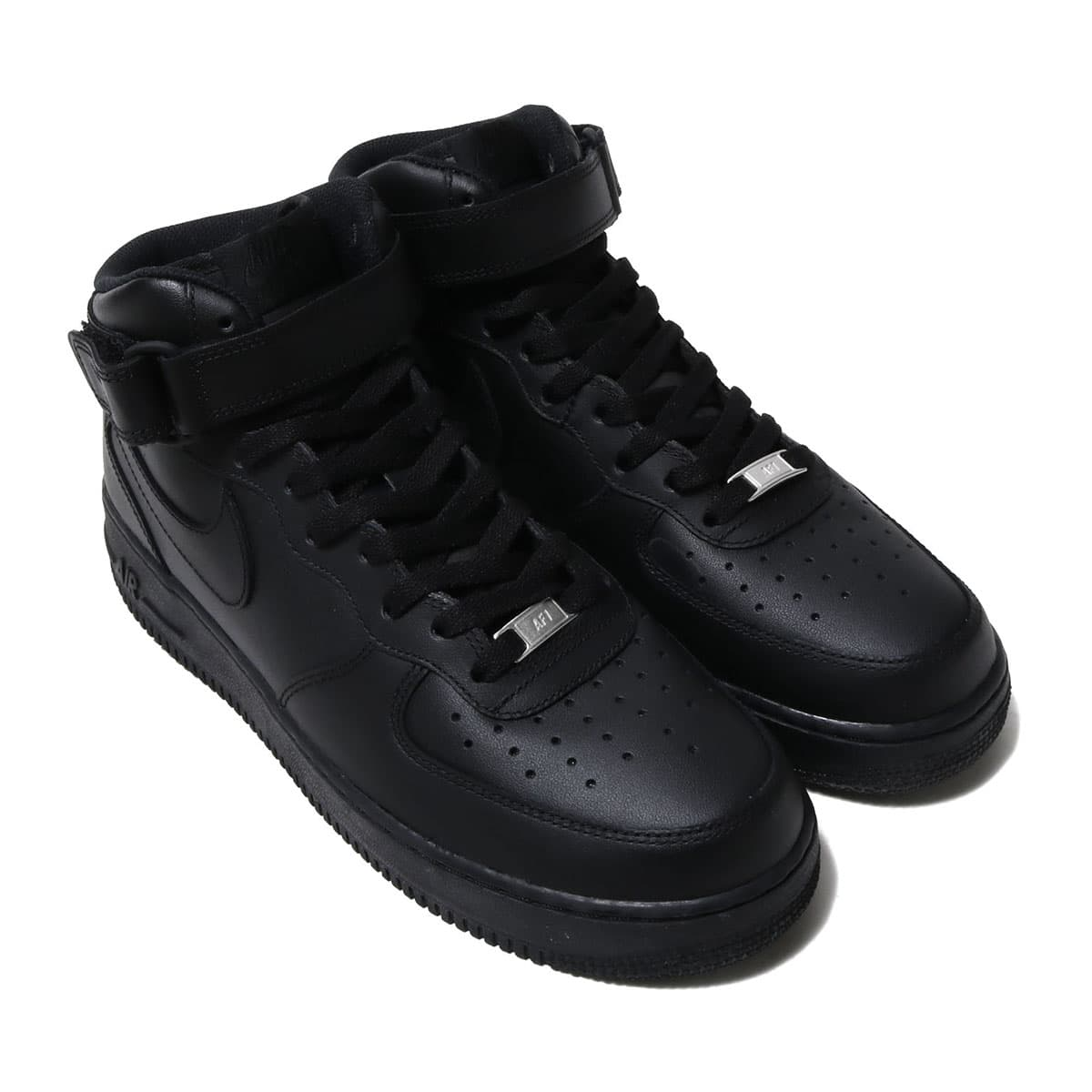 NIKE AIR FORCE 1 MID '07 BLACK/BLACK 18FW-I_photo_large