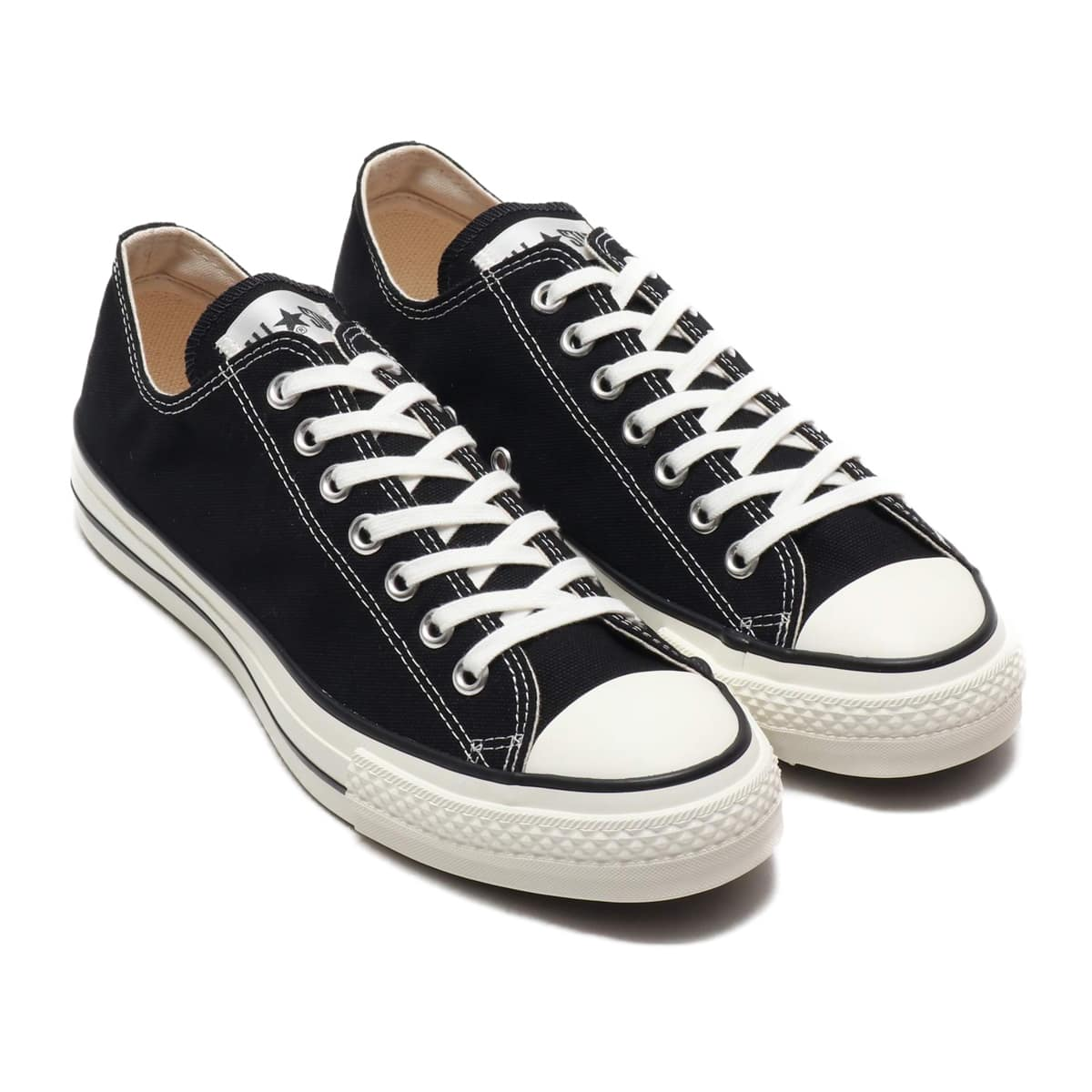 CONVERSE ALL STAR J OX  BLACK_photo_large