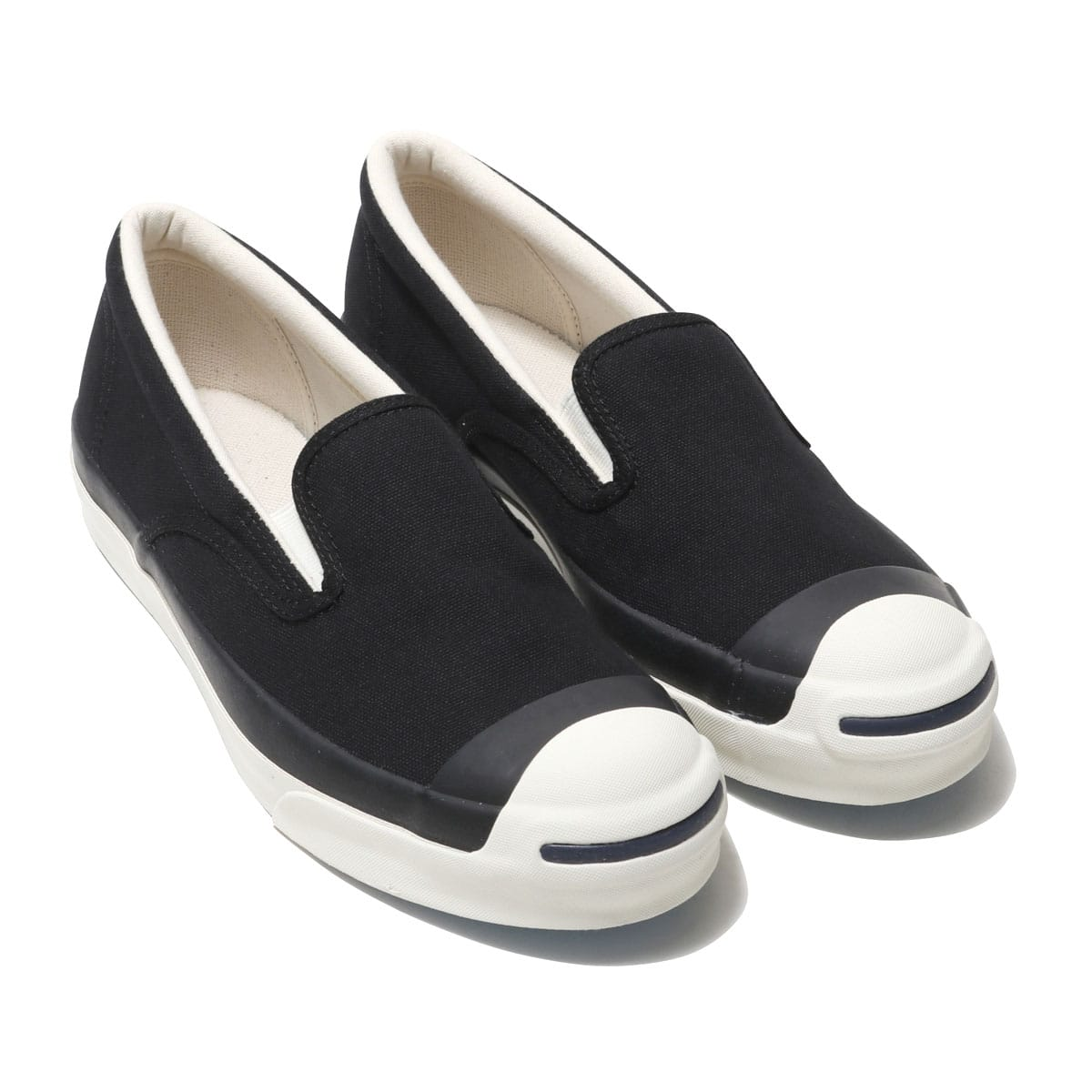 CONVERSE JACK PURCELL RET SLIP-ON  ブラック 19SS-I_photo_large