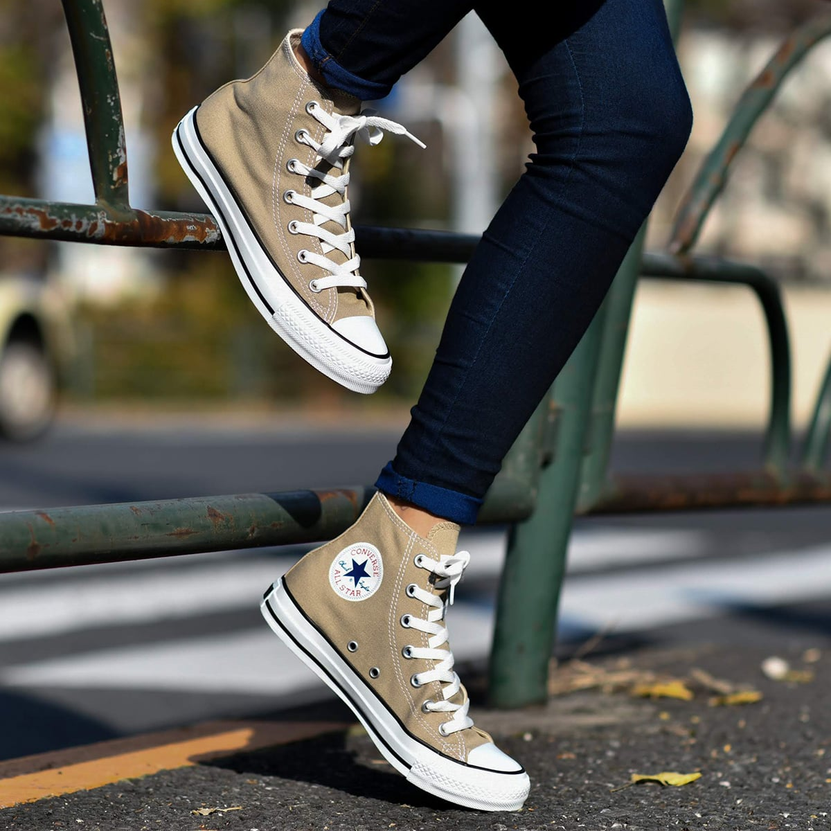 CONVERSE ALL STAR COLORS HI  BEIGE_photo_large