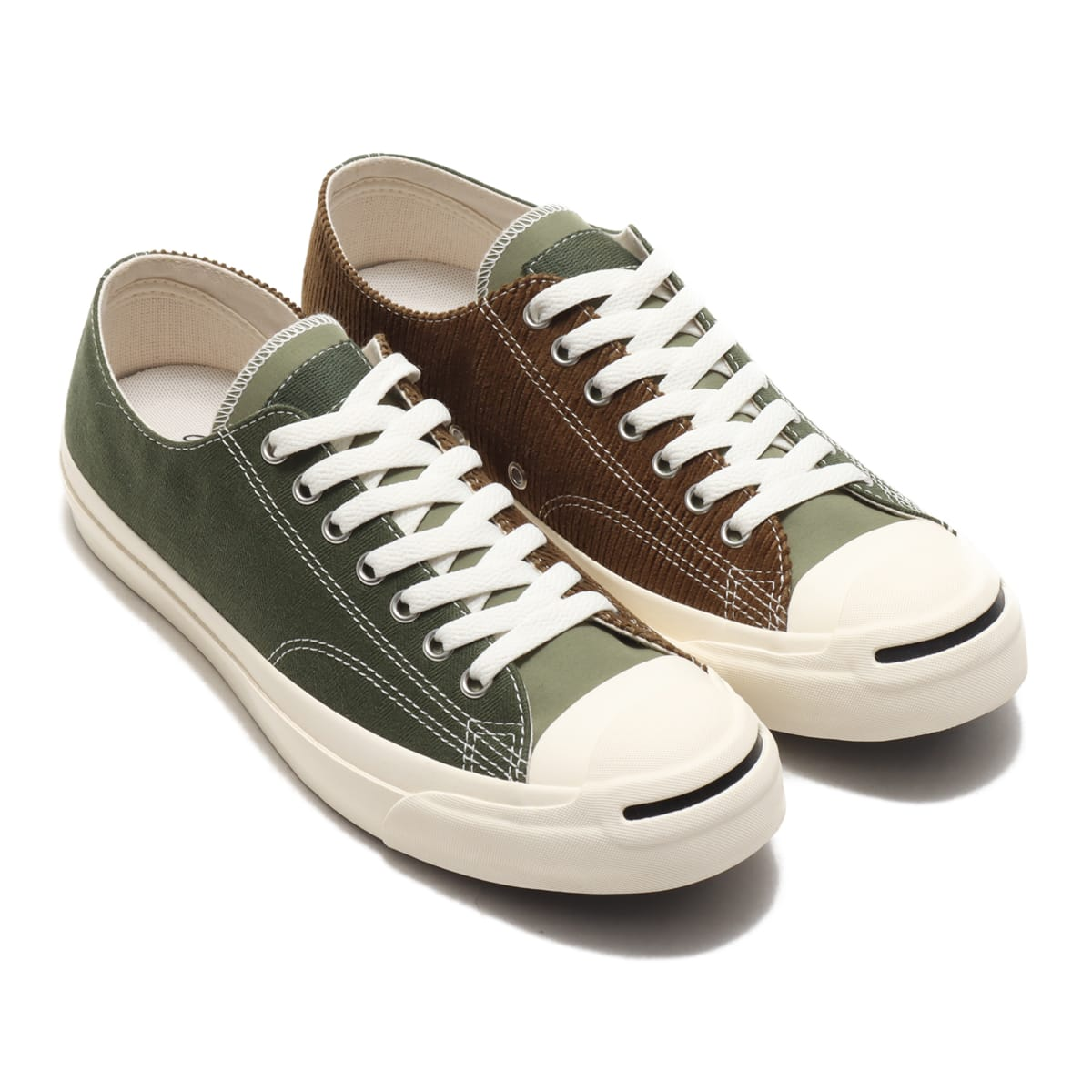 CONVERSE JACK PURCELL MULTIMATERIAL RH OLIVE 20FW-I_photo_large